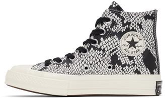Converse Black Snake Chuck 70 Hi Sneakers