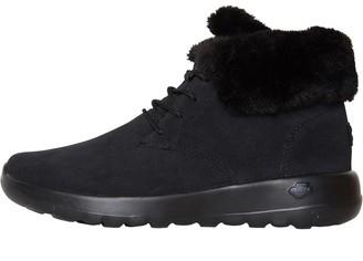 Skechers Womens On The GO Joy Lush Boots Black