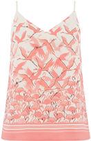 Oasis Flamingo Tie Shoulder Cami