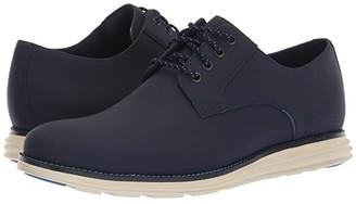 Cole Haan Original Grand Plain Toe (Blazer Blue Matte Leather) Men's Shoes