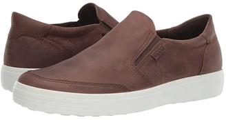 Ecco Soft 7 Slip-On (Black) Men's Shoes