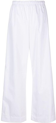 Base Range Ole wide-leg trousers