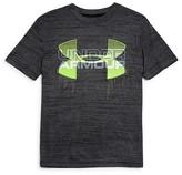 Under Armour Boys' Slubbed Tech Logo Tee - Sizes S-XL