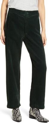 AG Jeans The Tomas High Waist Wide Leg Corduroy Trousers