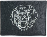 Givenchy rottweiler print cardholder - men - Cotton/Polyester/Polyurethane - One Size