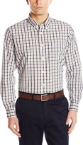 Dockers Long-Sleeve Multicolored Gingham Button-Front Shirt