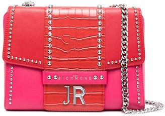 John Richmond Andler two-tone shoulder bag