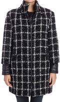 Trussardi Wool Bouclé Blend Coat