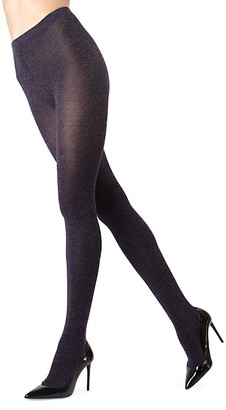 Me Moi Shiny Cotton-Blend Sweater Tights