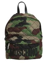 Moschino Quilted Camouflage Backpack