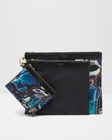 Ted Baker Blue Lagoon triple pouch set