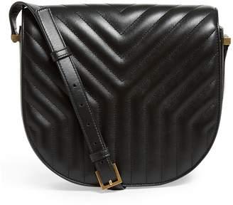 Saint Laurent Quilted Leather Joan Satchel