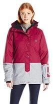 DC Women's Defy Color Block Regular Fit Snow Jacket
