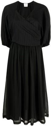 Alysi Stripe-Pattern Midi Dress