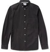 Norse Projects Anton Button-down Collar Denim Shirt - Black