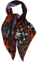 Balenciaga Abstract Jacquard Silk Scarf