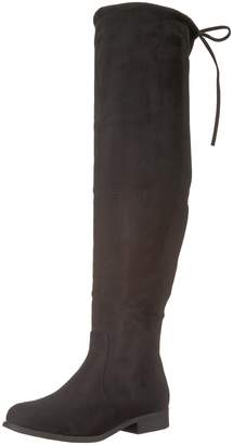 Brinley Co. Women's SPUR Over The Over The Knee Boot