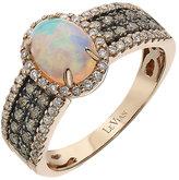 Le Vian Chocolatier Le Vian 14ct Strawberry Gold opal & diamond ring