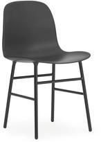 Normann Copenhagen Form Chair - Steel - Black
