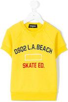 DSQUARED2 L.A beach sweatshirt - kids - Cotton - 4 yrs