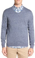 Nordstrom Men's Big & Tall Cotton & Cashmere V-Neck Sweater