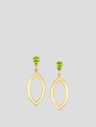 Marquis Pear Open Earrings