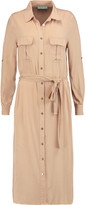 Melissa Odabash Maryanne belted brushed-jersey dress