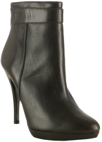 Michael Kors black leather 'Lolita' ankle boots