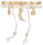 Ettika Beaded Friendship Bracelet & Charms Set