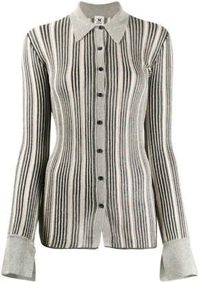 M Missoni metallic knit shirt