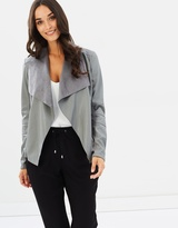 Wallis Alice Waterfall PU Jacket
