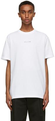 Alyx White Visual Logo T-Shirt