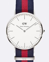 Daniel Wellington Classic Oxford Silver 40mm