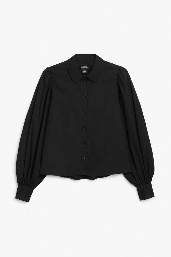 Thumbnail for your product : Monki Balloon sleeve shirt