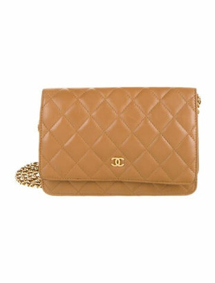 Chanel Classic Wallet On Chain gold