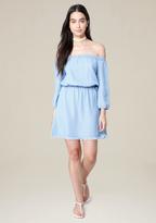 Bebe Aimee Fray Hem Dress