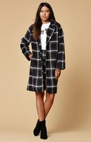 Motel Rocks Ernest Plaid Oversized Coat
