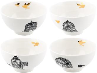 Pols Potten Freedom Birds Bowl - Set of 4
