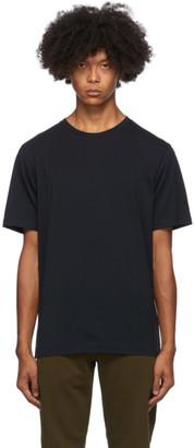 Dries Van Noten Navy Round Collar T-Shirt