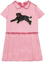 Gucci Children's silk dress with panther