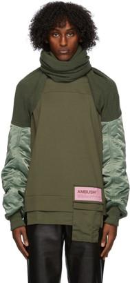 Ambush Green Mix Sleeve Scarf