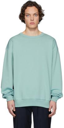 Dries Van Noten Blue Hoxto Sweatshirt