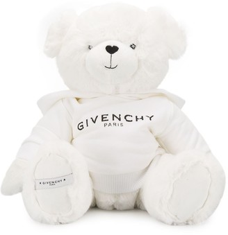 Givenchy Kids Logo Embroidered Bear Soft Toy
