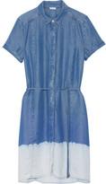 Splendid Sandollar Ombré Tencel Shirt Dress - Blue