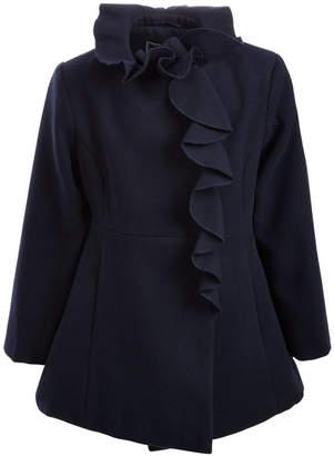 S. Rothschild Toddler Girls Ruffled Coat