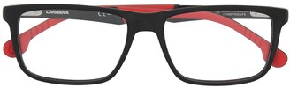 Carrera Two-Tone Rectangle Glasses