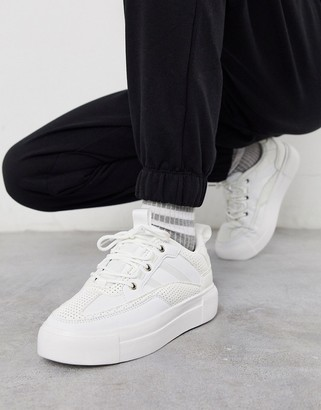 ASOS DESIGN Deserve chunky trainers in white