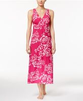 Alfani Floral-Print Knit Long Nightgown, Created for Macy's