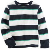 Osh Kosh Toddler Boy Striped Thermal Long Sleeve Tee