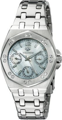 Wellington Moana Women's Quartz Watch with Mother of Pearl Dial Analogue Display and Silver Stainless Steel Bracelet WN510-181